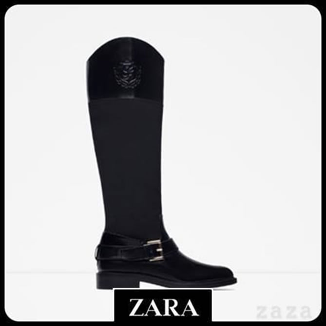 ZARAのブーツ4