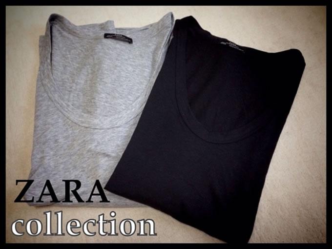 ZARAのTシャツ6