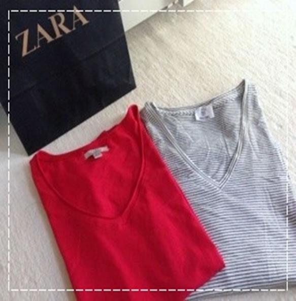 ZARAのTシャツ7