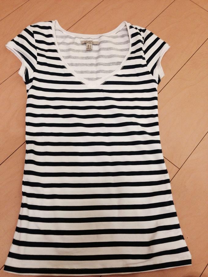 ZARAのTシャツ3