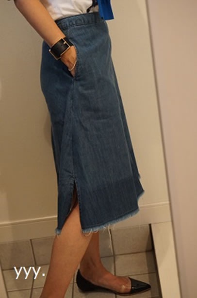 ZARAのスカート4