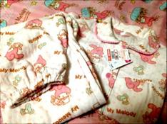 しまむらのキッズパジャマ ☓ マイメロディ