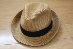 夏の帽子もおすすめです