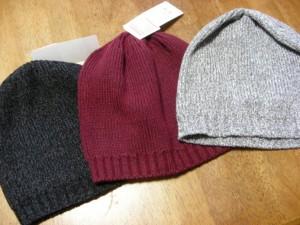ユニセックスニット帽