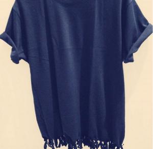 ユニクロTシャツ*リメイク2