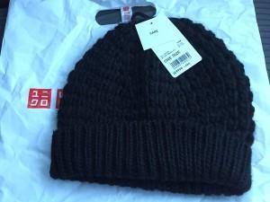 鹿の子編みニット帽