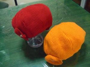 ニット帽リメイク