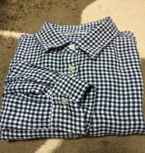チェックのリネンシャツ!!